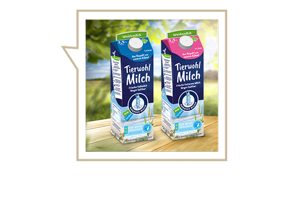 Tierwohl Milch Nordsee Milch